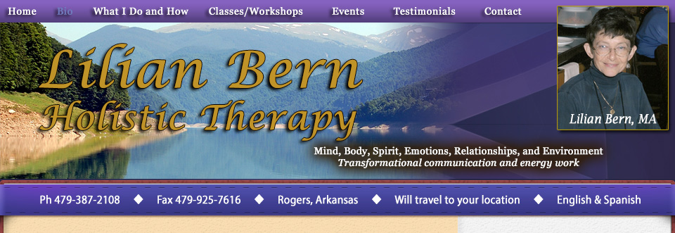 Lilian Bern Holistic Psychotherapy